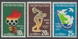 1968Netherlands Antilles187-1891968 Olympic Games In Mexiko - Summer 1968: Mexico City