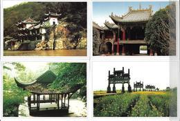 Chine Un Lot De 9 Cartes Neuves, Entiers Postaux Vues Diverses - 1949 - ... People's Republic