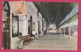 Lourenço Marques,Gare Da Estação Caminho De Ferro, Railway Train Station, Locomotiva Mallet, Moçambique Mozambique - Mozambique