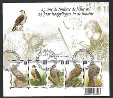 OCB Nr 4030/34 BL182 Buzin Fauna Faucon Valk Falcon Birds Oiseau Vegel - Belgique