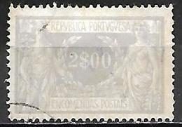 PORTUGAL   -  Colis Postaux  -  1920 / 21  .  Y&T N° 13 Oblitéré. - Colis Postaux