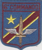 Armée Belge  6 ème Cie  Commando - Escudos En Tela