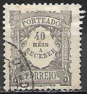 PORTUGAL   -   TAXE   -  1904  . Y&T N° 11 Oblitéré. - Port Dû (Taxe)