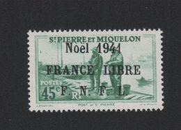 Faux Saint-Pierre Et Miquelon N° 216 (B) 45 C Gomme Sans Charnière - St.Pierre Et Miquelon
