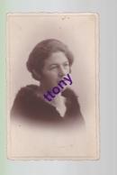 Cp : Une Photo Carte   Silhouette   Portrait De Femme Carte Abimée Non Circulée  Mais Avec Annotation - Silhouettes