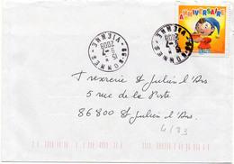 France N° 4183 Y. Et T. Vienne Bonnes Cachet A9 Du 09/07/2008 - Marcofilia (sobres)