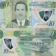 Botswana Pick-number: 35 Uncirculated 2018 10 Pula - Botswana