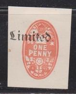 GREAT BRITAIN Used 1895 Revenue - One Penny Embossed - Steuermarken