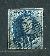 [7_0007] Zegel 7 Met Balkstempel P 75 Lokeren Scan Voor- En Achterzijde - 1851-1857 Medallions (6/8)