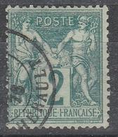 62 SAGE 2 C VERT - Quelques Dents Un Peu Courtes - 1876-1878 Sage (Type I)