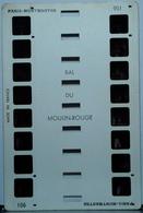 COLORELIEF   901  PARIS-MONTMARTRE : BAL DU MOULIN ROUGE ( FRENCH CANCAN ) - Visionneuses Stéréoscopiques