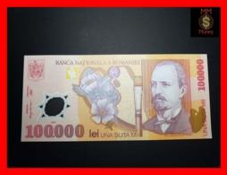 ROMANIA 100.000 100000 Lei  2001  P. 114   POLYMER  UNC - Roumanie