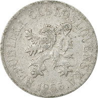 Monnaie, Tchécoslovaquie, 10 Haleru, 1953, TB, Aluminium, KM:38 - Tschechoslowakei