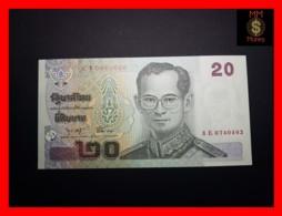 THAILAND 20 Baht 2003 P. 109  Sig.  75 - Tailandia