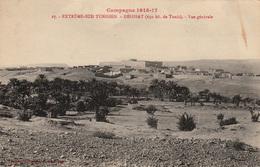 Campagne De Tunisie 1915-17 - EXTREME SUD TUNISIEN - DEHIBAT - Vue Générale - 2 Scans - Andere Kriege