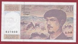 "20 Francs ""Debussy"" --1995---SUP--ALPH .A.048 - 20 F 1980-1997 ''Debussy''"