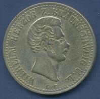 Braunschweig Taler 1841 CvC, Herzog Wilhelm, J 243 Ss (m2455) - Taler Et Doppeltaler