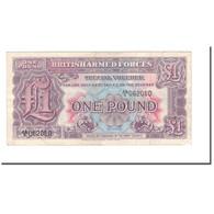 Billet, Grande-Bretagne, 1 Pound, 1948, KM:M22a, TB+ - Military Issues