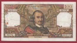 """100 Francs """"Corneille """" Du 02/06/1966.N---TTB---ALPH .W.173 - 1962-1997 ''Francs''"""