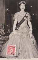 CANADA Carte Maximum Yt 272  Queen Elisabeth II  1954   Maximum Card - Maximumkaarten