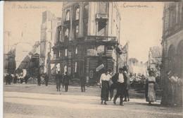 Leuven , Louvain   , Guerre 1914-1918  Ruine  , Rue  De La Station - Leuven