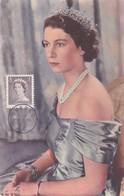 CANADA Carte Maximum Yt 260 Queen Elisabeth II  1953   Maximum Card - Maximumkaarten