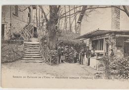 Chaville  92   Source Du Pavillon De L'Usine _Restaurant BARRAUD Avec Terrasse Animée - Chaville