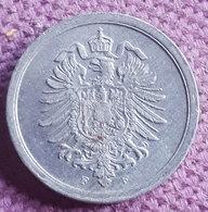DUITSLAND : SCHAARSE 1 PFENNIG 1917 F KM 24 Bijna UNC - [ 2] 1871-1918 : Imperio Alemán