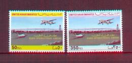United Arab Emirates/UAE 2000 - Dubaï International Airport - Stamps 2v - Complete Set - MNH** Excellent Quality - United Arab Emirates (General)