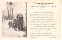ITALIA - FERRARA - (non Comune) - Ferrara Che Scompare, Leggi Testo, Animata, Viag. 1908 - 2020-B-191 - Ferrara
