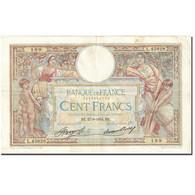 France, 100 Francs, 100 F 1908-1939 ''Luc Olivier Merson'', 1923-1927 TTB KM:78c - 100 F 1908-1939 ''Luc Olivier Merson''