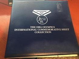 Album Hingeless For Olympic Sheetlets Stamps - Bindwerk Met Pagina's