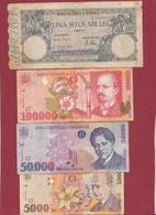 Roumanie 20 Billets Dans L 'état Lot N °1 - Romania