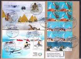 Argentina - 2020 - Lettre - Antarctique - Plésiosaure - Dinosaures En Antarctique - Argentinien