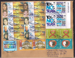 Argentina - 2020 - Lettre - Non à La Traite Des êtres Humains - Personnes Disparues - Argentine