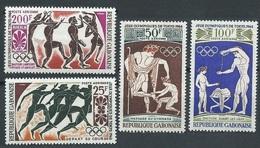 1964Gabon203-2061964 Olympic Games In Tokio11,00 € - Summer 1964: Tokyo