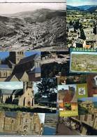 Lot De 29 Kg.6400 Cartes Postales Environs De FRANCE. (drouille).NetB.couleurs.Dentelées Et Droites.Voyagées Et Non. G.F - Postcards