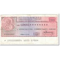 Billet, Italie, 100 Lire, 1976, 1976-08-17, TB - [10] Assegni E Miniassegni