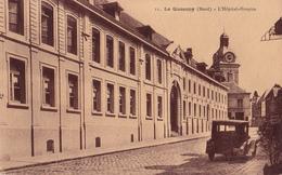 LE QUESNOY  59 ( L' HOPITAL - L' HOSPICE  ) VOITURE AUTOMOBILE ANCIENNE - Le Quesnoy