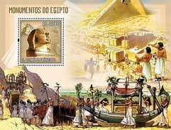 SAO TOME E PRINCIPE 2006 SHEET MONUMENTS OF EGYPT MONUMENTOS St6103b - São Tomé Und Príncipe