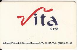 GREECE - Vita Gym, Member Card, Unused - Non Classificati
