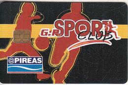 GREECE - G.P.Sport Club, Member Card, Used - Non Classificati