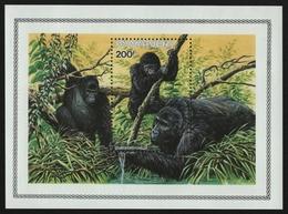 Ruanda 1985 - Mi-Nr. Block 103 ** - MNH - Gorillas - Ruanda