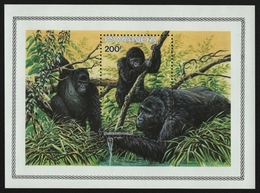 Ruanda 1985 - Mi-Nr. Block 103 ** - MNH - Gorillas - Rwanda