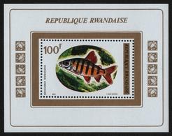 Ruanda 1973 - Mi-Nr. Block 33 A ** - MNH - Fische / Fish - 1970-79: Neufs