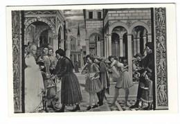 6574 - S GIMIGNANO SIENA S AGOSTINO CONSEGNATO AL MAESTRO DI GRAMMATICA 1930 CIRCA - Altre Città