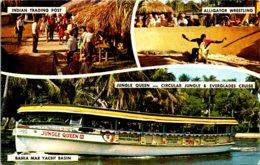 Florida Fort Lauderdale Jungle Queen III Indian Trading Post & Alligator Wrestling - Fort Lauderdale