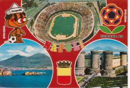 """NAPOLI - CAMPIONATO DI CALCIO """"EUROPA 80"""" - STADIUM STADION STADE STADIO """"SAN PAOLO"""" - NON VIAGGIATA - Football"""