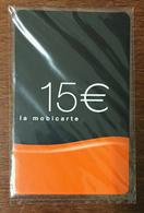LA MOBICARTE 15 EUROS EXP LE 05/2008 NEUVE PHONECARD CARD - Frankreich