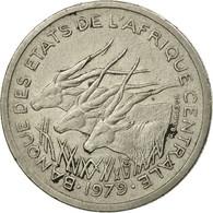 Monnaie, États De L'Afrique Centrale, 50 Francs, 1979, Paris, TB+, Nickel - Centrafricaine (République)